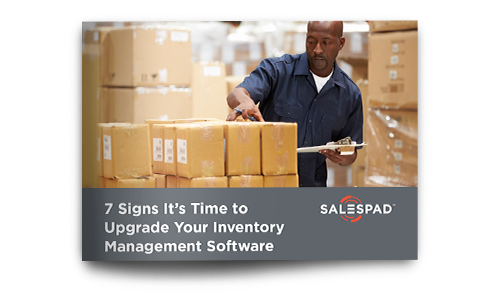 7 Signs It's Time to Uprade Your Inventory Management Software ebook